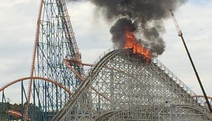 rollercoaster crash